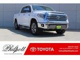 2018 Super White Toyota Tundra 1794 Edition CrewMax 4x4 #122721579
