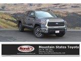 2018 Magnetic Gray Metallic Toyota Tundra SR5 Double Cab 4x4 #122721449