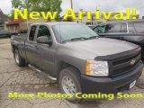 2007 Graystone Metallic Chevrolet Silverado 1500 LT Extended Cab 4x4 #122742031