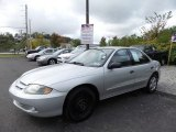 2003 Ultra Silver Metallic Chevrolet Cavalier LS Sedan #122742217