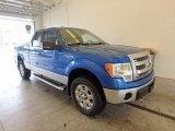 2014 Blue Flame Ford F150 XLT SuperCab 4x4 #122742144