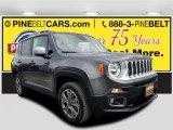 2016 Granite Crystal Metallic Jeep Renegade Limited 4x4 #122742091