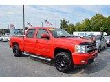 2011 Victory Red Chevrolet Silverado 1500 LTZ Crew Cab 4x4 #122742196