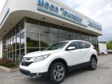 2017 White Diamond Pearl Honda CR-V EX-L AWD #122742251