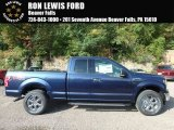 2018 Blue Jeans Ford F150 XLT SuperCab 4x4 #122769401