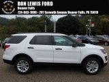 2017 Oxford White Ford Explorer FWD #122769394