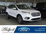 2017 White Platinum Ford Escape SE #122769571