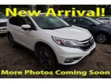2015 White Diamond Pearl Honda CR-V Touring #122769606