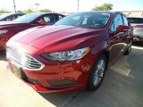 2017 Ruby Red Ford Fusion SE #122769665