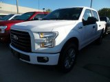 Oxford White Ford F150 in 2017