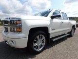 2014 White Diamond Tricoat Chevrolet Silverado 1500 High Country Crew Cab 4x4 #122769538
