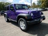 2017 Extreme Purple Jeep Wrangler Unlimited Sport 4x4 #122769344