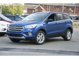2017 Lightning Blue Ford Escape SE 4WD #122796047