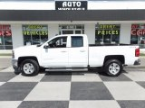 2016 Summit White Chevrolet Silverado 1500 LT Double Cab 4x4 #122796133