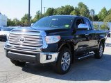 2017 Midnight Black Metallic Toyota Tundra Limited Double Cab #122806908