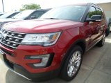 2017 Ruby Red Ford Explorer XLT 4WD #122810626