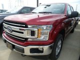 2018 Ruby Red Ford F150 XLT SuperCrew 4x4 #122810613