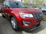 2017 Ruby Red Ford Explorer XLT 4WD #122810611