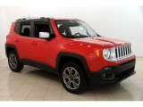 2016 Colorado Red Jeep Renegade Limited 4x4 #122810583