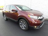 2017 Basque Red Pearl II Honda CR-V EX-L AWD #122810461