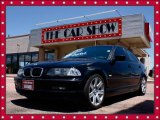 2001 Jet Black BMW 3 Series 325i Sedan #12273028