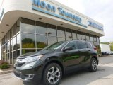 2017 Dark Olive Metallic Honda CR-V EX AWD #122810491
