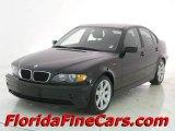 2002 Jet Black BMW 3 Series 325i Sedan #12266148