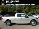 2018 White Gold Ford F150 XLT SuperCab 4x4 #122828831