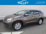 2014 Kona Coffee Metallic Honda CR-V EX AWD #122828730