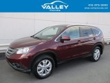 2014 Basque Red Pearl II Honda CR-V EX-L AWD #122828729