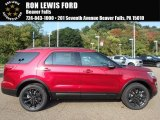2017 Ruby Red Ford Explorer XLT 4WD #122828820