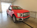 2018 Race Red Ford F150 XLT SuperCab 4x4 #122828858