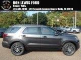 2017 Magnetic Ford Explorer Sport 4WD #122828819