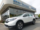 2017 White Diamond Pearl Honda CR-V LX AWD #122828904