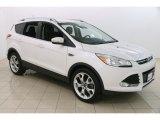 2014 White Platinum Ford Escape Titanium 2.0L EcoBoost 4WD #122852629