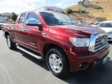 2007 Salsa Red Pearl Toyota Tundra Limited Double Cab #122852571