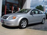 2007 Ultra Silver Metallic Chevrolet Cobalt LS Coupe #12277442