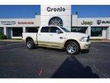 2011 Bright White Dodge Ram 1500 Laramie Longhorn Crew Cab 4x4 #122878891