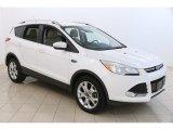 2014 White Platinum Ford Escape Titanium 2.0L EcoBoost 4WD #122879030