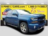 2018 Deep Ocean Blue Metallic Chevrolet Silverado 1500 LT Crew Cab 4x4 #122878732