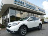 2017 White Diamond Pearl Honda CR-V EX AWD #122878872