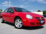 2003 Flame Red Dodge Neon SXT #12261067