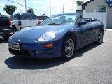 2003 Flash Blue Pearl Mitsubishi Eclipse Spyder GTS #12278127