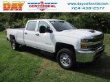 2017 Summit White Chevrolet Silverado 2500HD Work Truck Crew Cab 4x4 #122901351