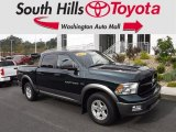 2011 Hunter Green Pearl Dodge Ram 1500 SLT Crew Cab 4x4 #122901385