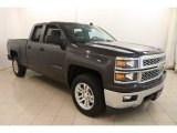 2014 Tungsten Metallic Chevrolet Silverado 1500 LT Double Cab 4x4 #122901554