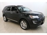 2017 Shadow Black Ford Explorer Limited 4WD #122901553