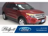 2013 Ruby Red Metallic Ford Explorer FWD #122901481