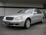 2004 Brilliant Silver Metallic Mercedes-Benz S 430 4Matic Sedan #12275076