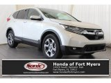2017 White Diamond Pearl Honda CR-V EX #122928339